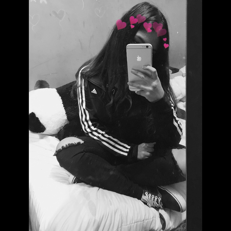 Girl In Dark Room Snapchat