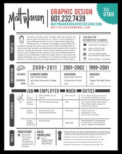 resume graphic designer - Resume Design 2016