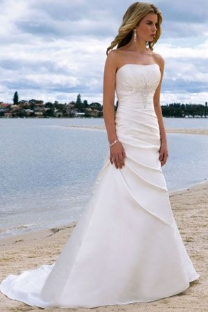 Awesome I Want A Picture Of Me Wearing My Wedding Dress On The Beach