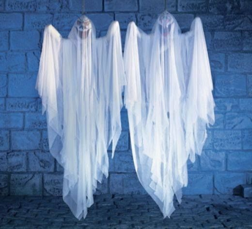 Better Gnomes  Cauldrons Easy and fun cheese cloth ghost What you - fun homemade halloween decorations