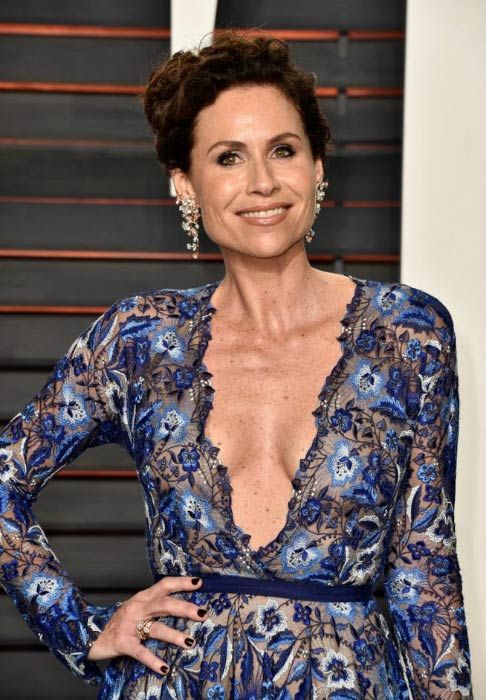 Minnie Driver At The Vanity Fair Oscar Party In February 2016 Minnie Driver Celebrities Celebrities Female