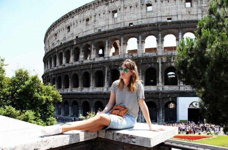 #Rome #Mariniere #Mirrored glasses