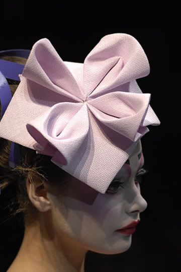 Dior 2007 collection Research Image for Fascinator