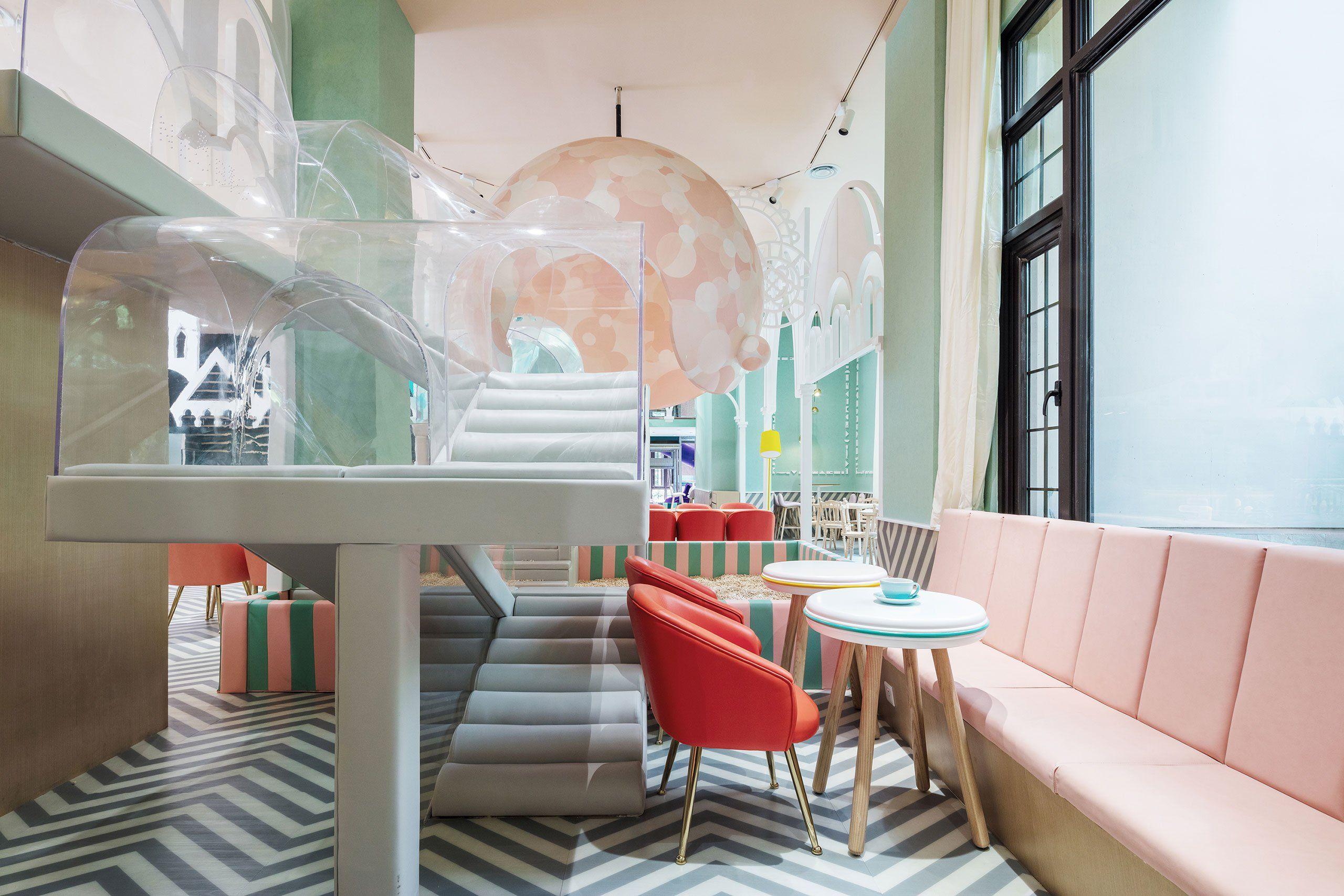 A Childu0027s Imagination Turned Destination At Shanghaiu0027s Neobio Restaurant
