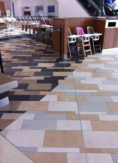 Crossville #tile at Indianapolis mall