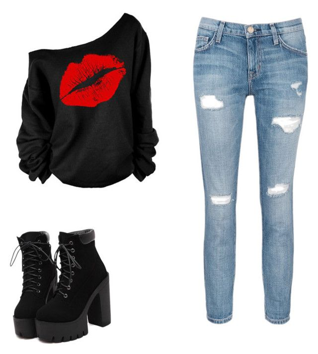 """""""Untitled #26"""" by kyliegarcia1012 on Polyvore featuring Current/Elliott"""