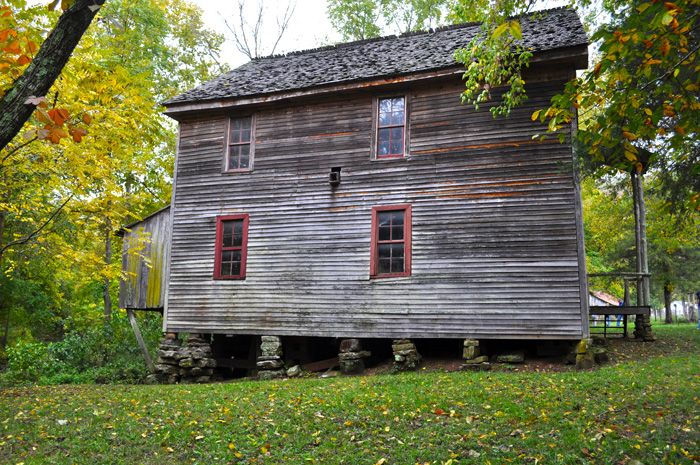 Old mill in boxley valley near ponca arkansas historic for Cabins near ponca ar
