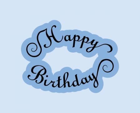 Download happy birthday script | Free birthday wishes, Svg file ...
