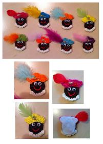 MieksCreaties: Zwarte Piet #zwartepietknutselen