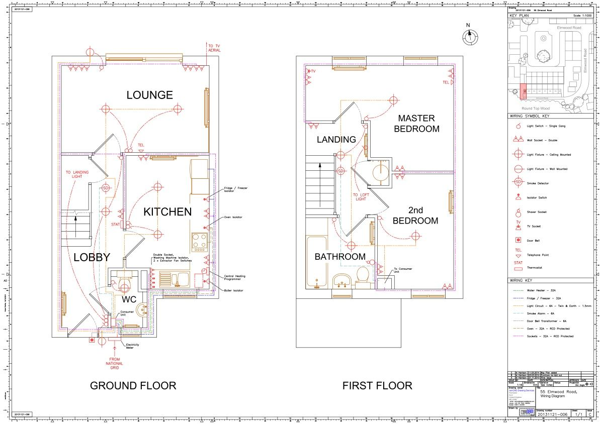 House Wiring Diagram