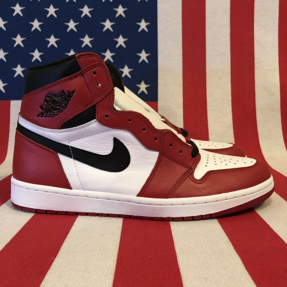 finest selection 3063b 2ee97 Nike Air Jordan 1 Retro I High OG Chicago 2015 Red Black 555088-101  fashion   clothing  shoes  accessories  mensshoes  athleticshoes (ebay link)