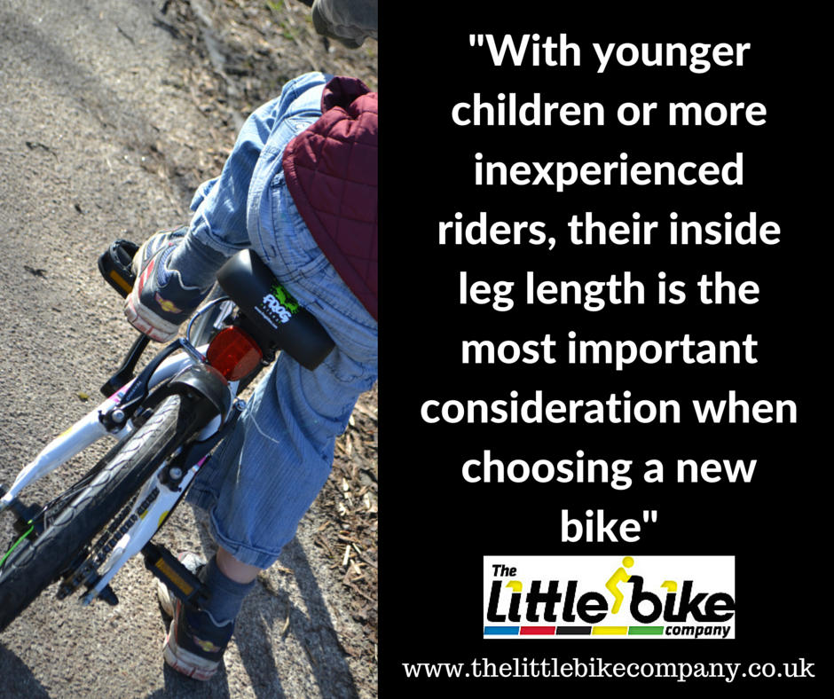 A Guide To Buying The Right Size Bike For Your Child Cycling