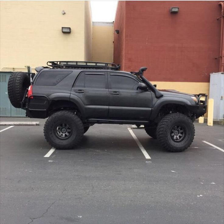 Pin by Soy on Lifted Toyotas Toyota 4runner, Toyota