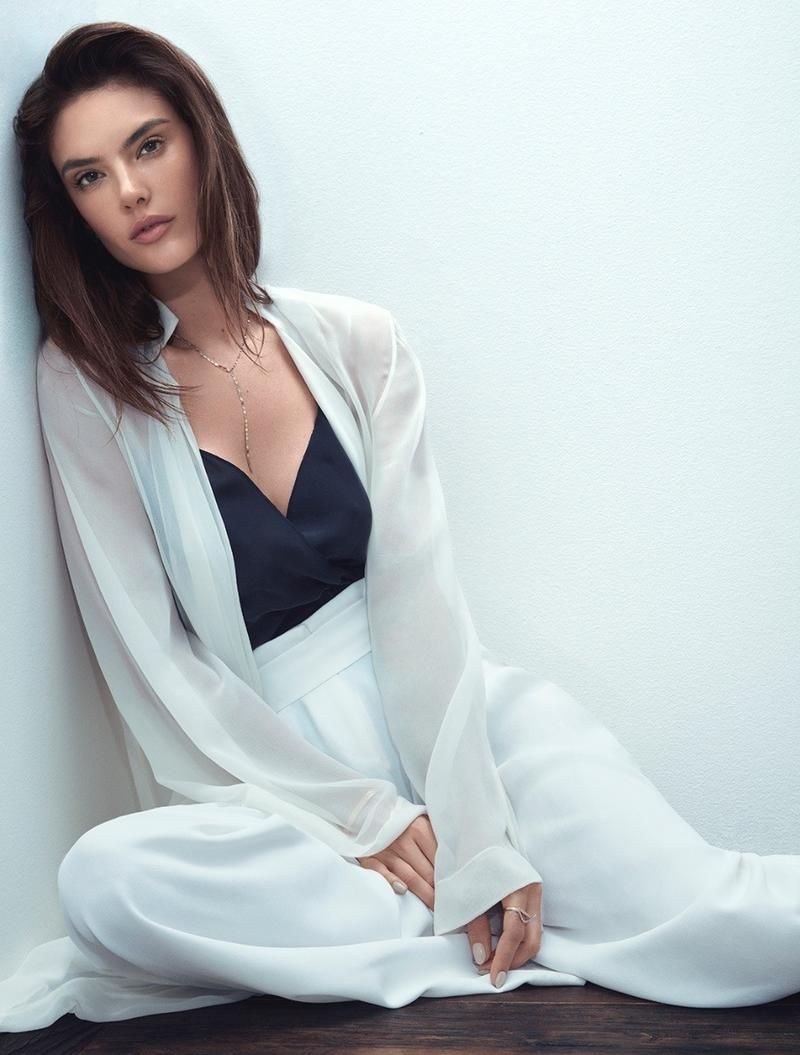 ae0ae666ae Supermodel Alessandra Ambrosio graces the August 2017 cover of Harper s  Bazaar Greece. Lensed by Easton   Roso
