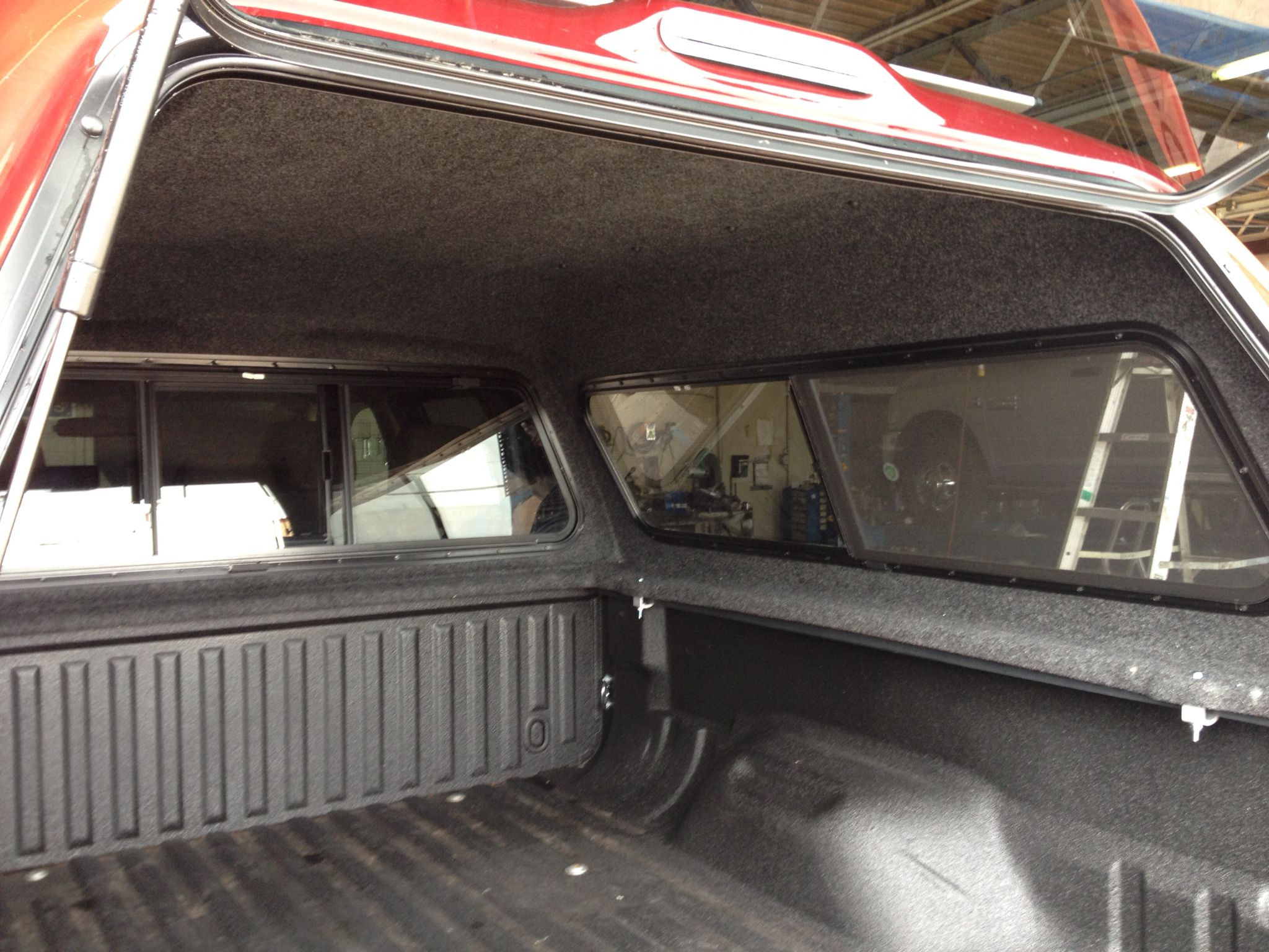 Leer 180 Inside With Headliner Ford F250 Leer F250