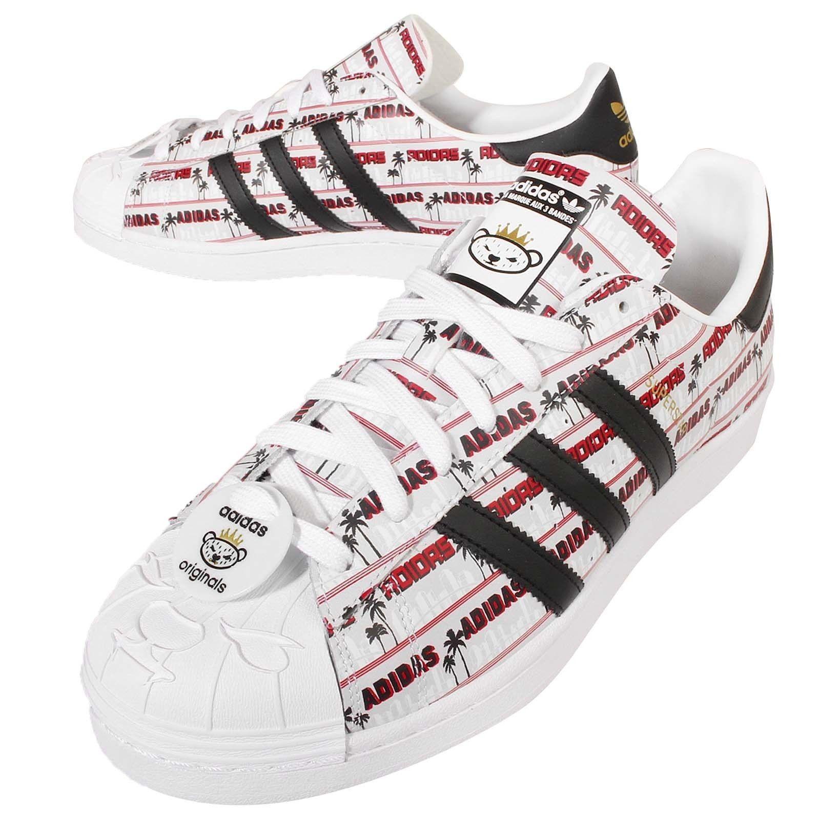 2016 Adidas Superstar Klassisch Originals NIGO Bearfoot Herren Sport Schuhe  NIGO… NigoAdidas SuperstarAdidas OriginalsSneakerHerrinClassicRedSlippers  ...