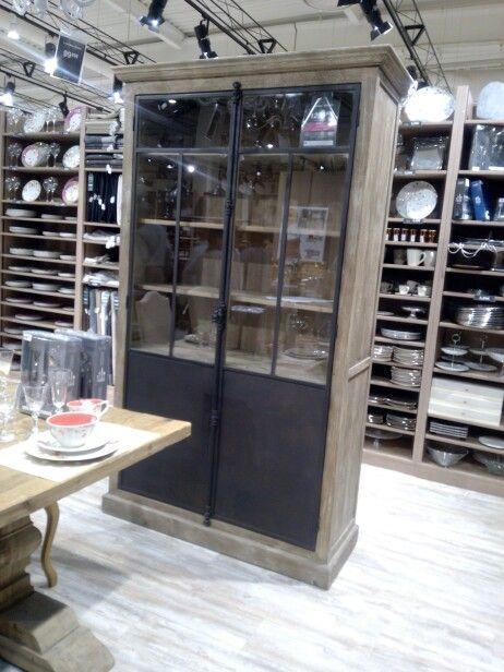 vitrine voltaire maison du monde id es d co cuisine. Black Bedroom Furniture Sets. Home Design Ideas