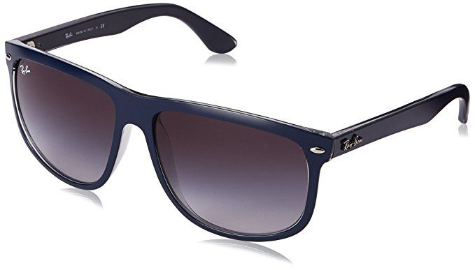271e41bfd0c Ray-Ban RB4147 - TOP MAT BLUE ON GREY TRA Frame GREY GRADIENT DARK GREY