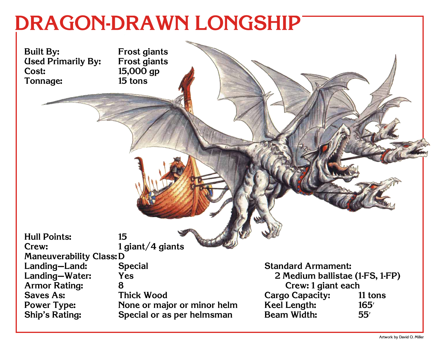 Mystaran Skyships In Spelljammer Part Vi Dragon Drawn