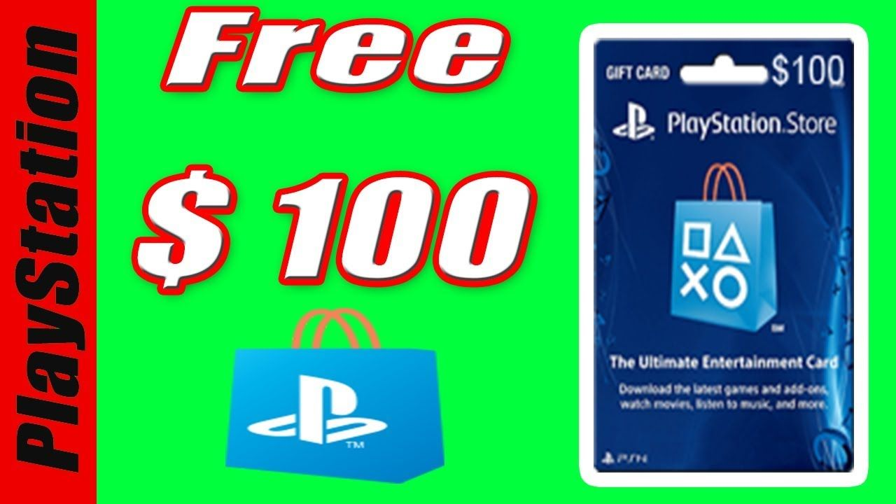 Free Ps4 Redeem Codes In 2018 How To Get Free Ps4 Gift Card