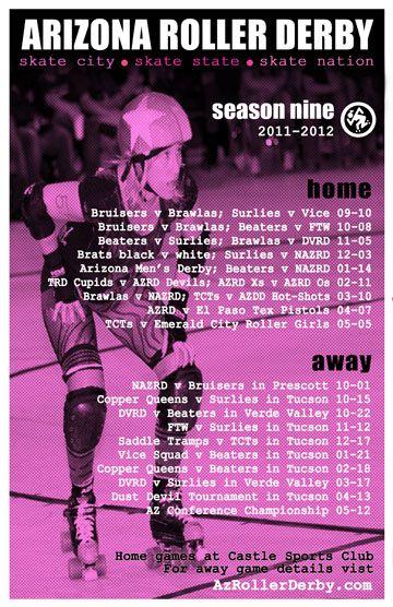 #roller derby #sport #athlete #schedule #arizona roller derby #AZRD