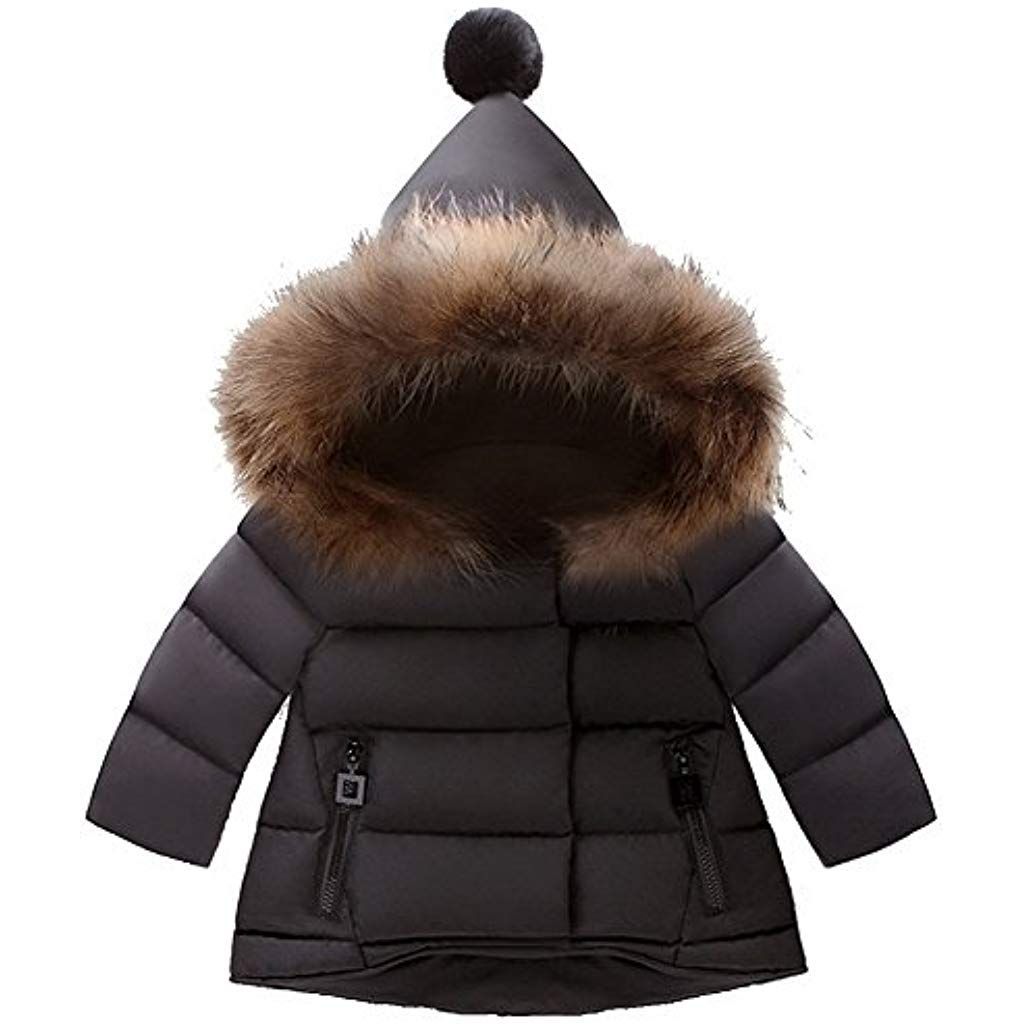 ARAUS Winter Mantel Winterjacke Mädchen Jung Neugeborenes