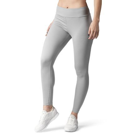3880270d0a05b Reebok Females Classics Vector Leggings in Medium Grey Heather Size L -  Casual Apparel