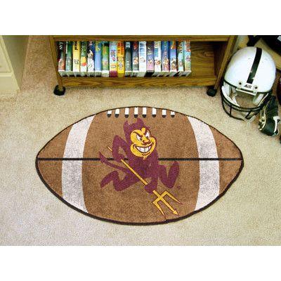 FANMATS NCAA Arizona State University Football Mat