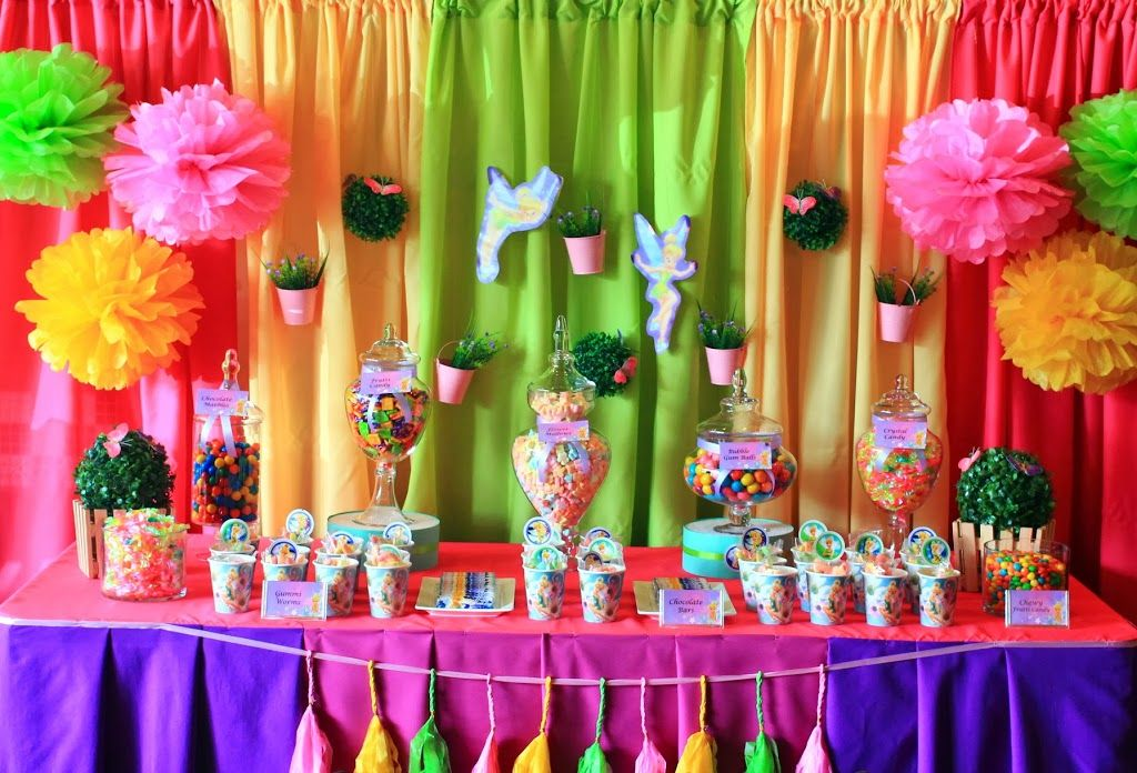 Tinkerbell Theme 4 Stars Most Beautiful Birthday Party Themes