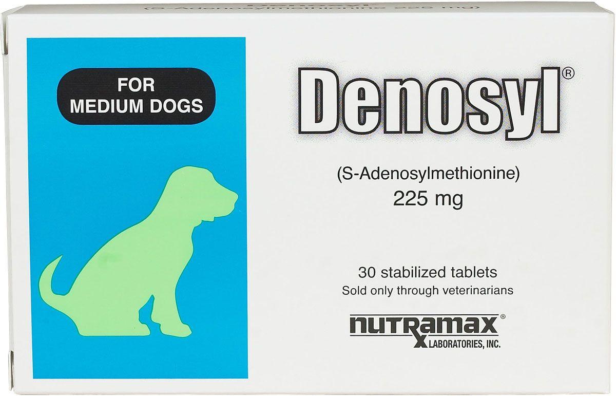 Denosyl Tablets 225 Mg 30 Ct Medium Dog 13 34 Lbs Products