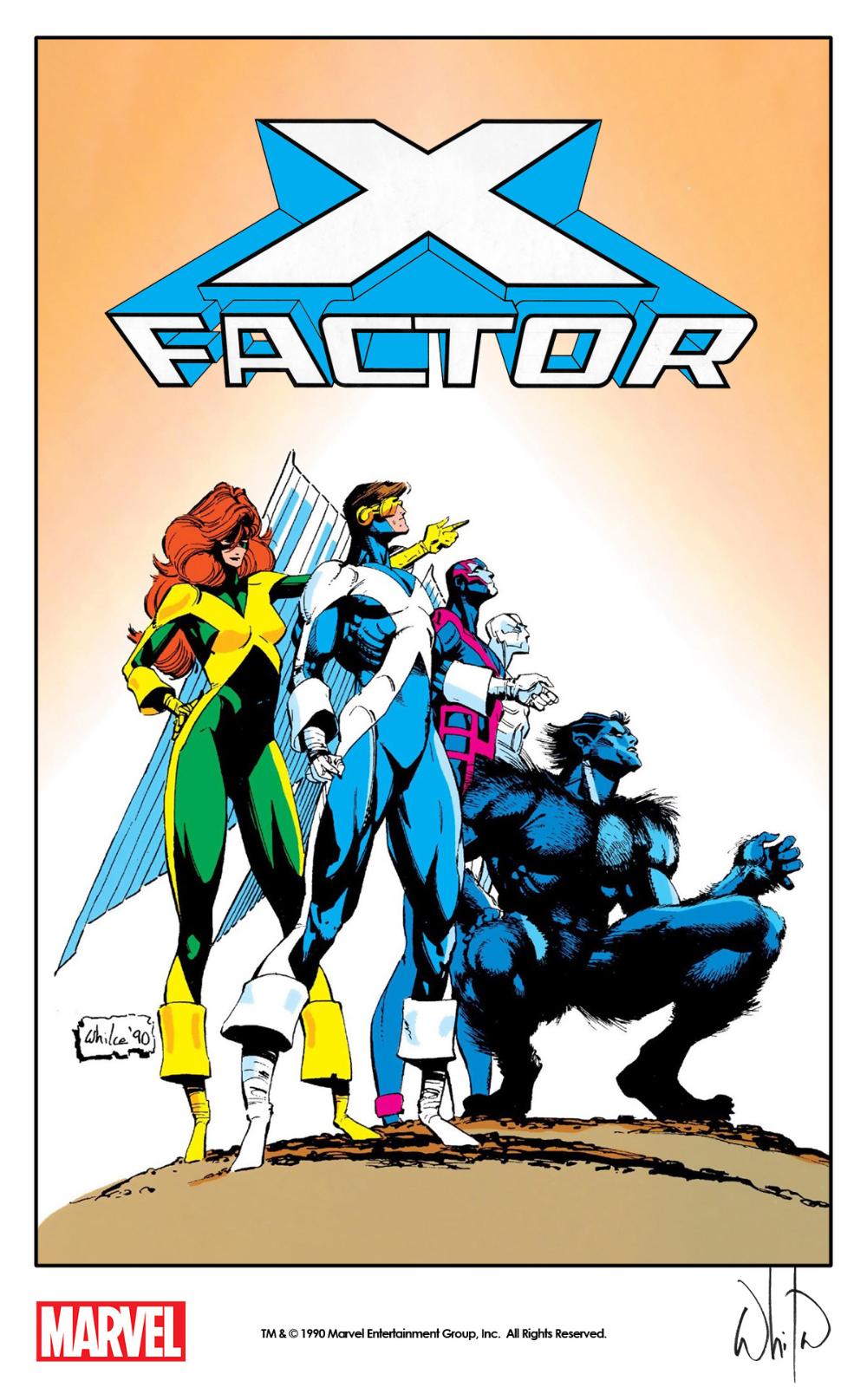 X Factor 1990 Whilce Portacio Marvel Graphic Novels Marvel Comics Covers Comic Books Art