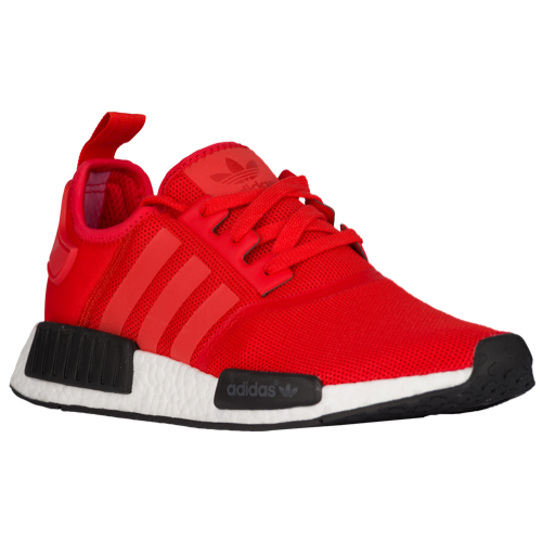 adidas nmd r1 mens red and black