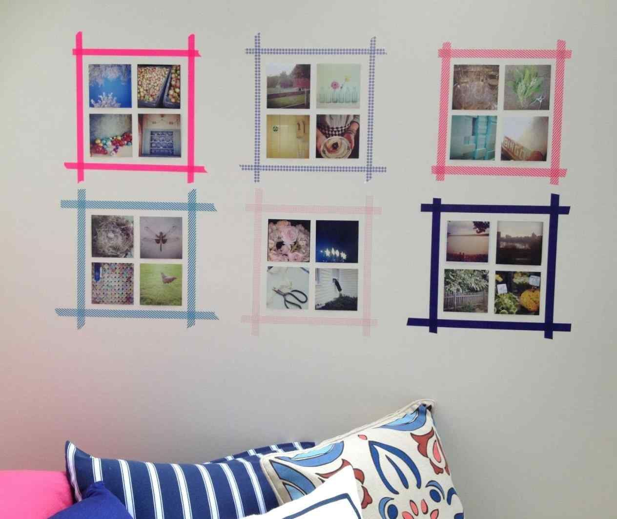 How To Hang Canvas Art Without Frame 21 Pictures Home Apartment
