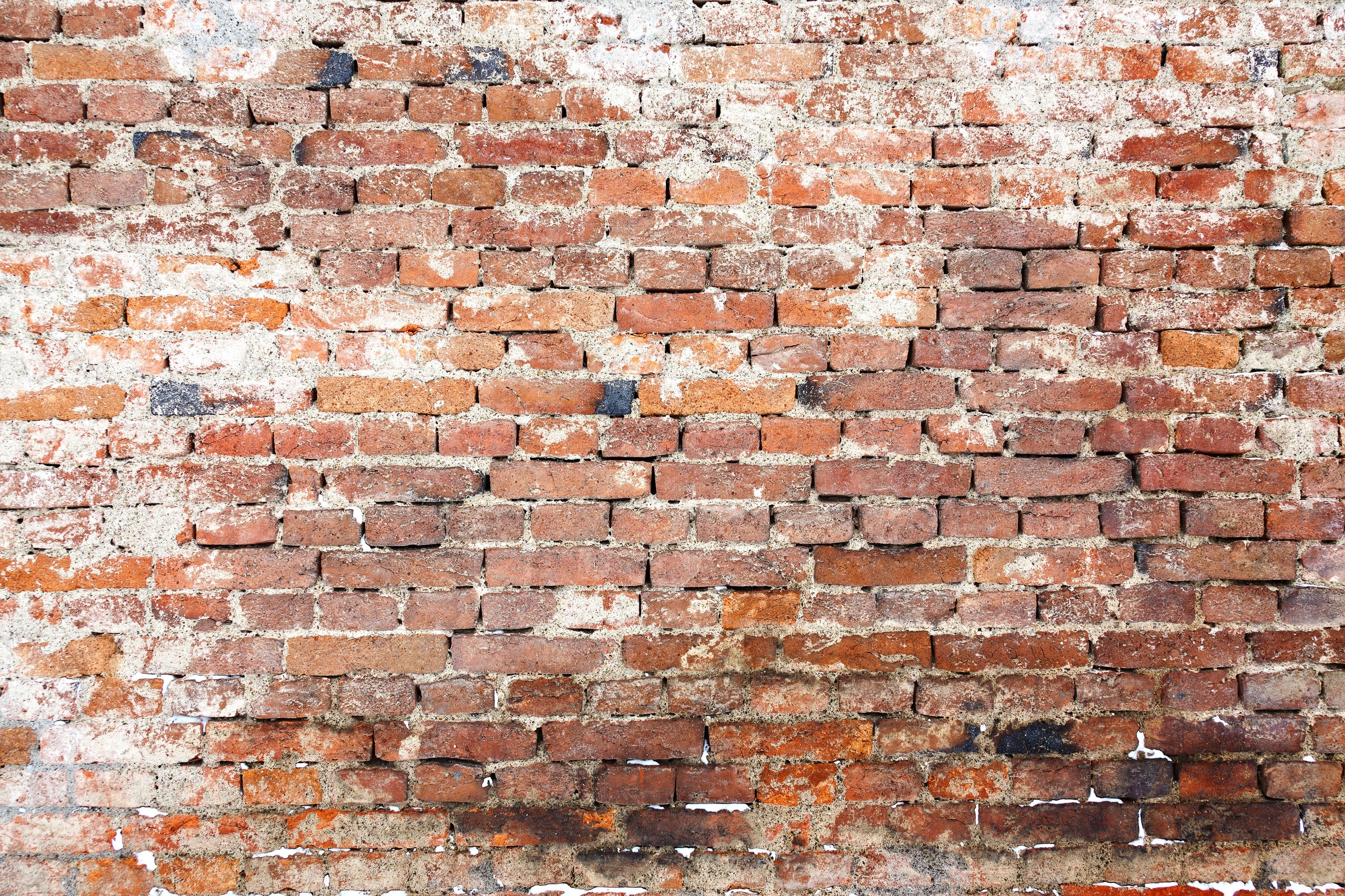 Plain wood table with hipster brick wall background stock photo - Old Brick Wall Pattern Free Stock Photo Public Domain Pictures