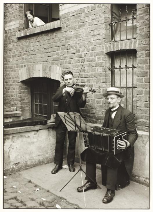 August Sander 'Street Musicians', 1922–8, printed 1990 © Die Photographische Sammlung/SK Stiftung Kultur - August Sander Archiv, Cologne; DACS, London, 2015.