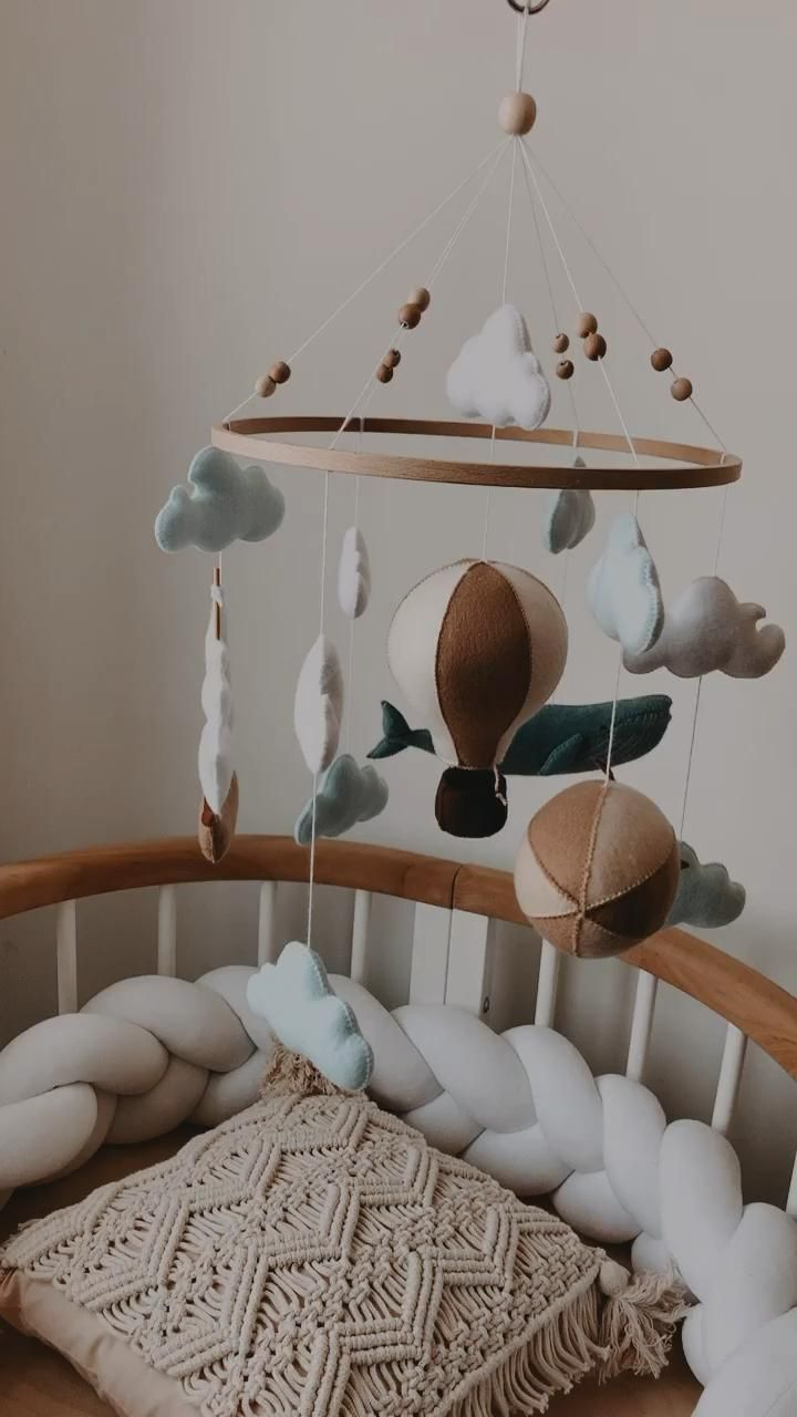 "Photo of Baby mobile ""Ocean Meets Sky"""