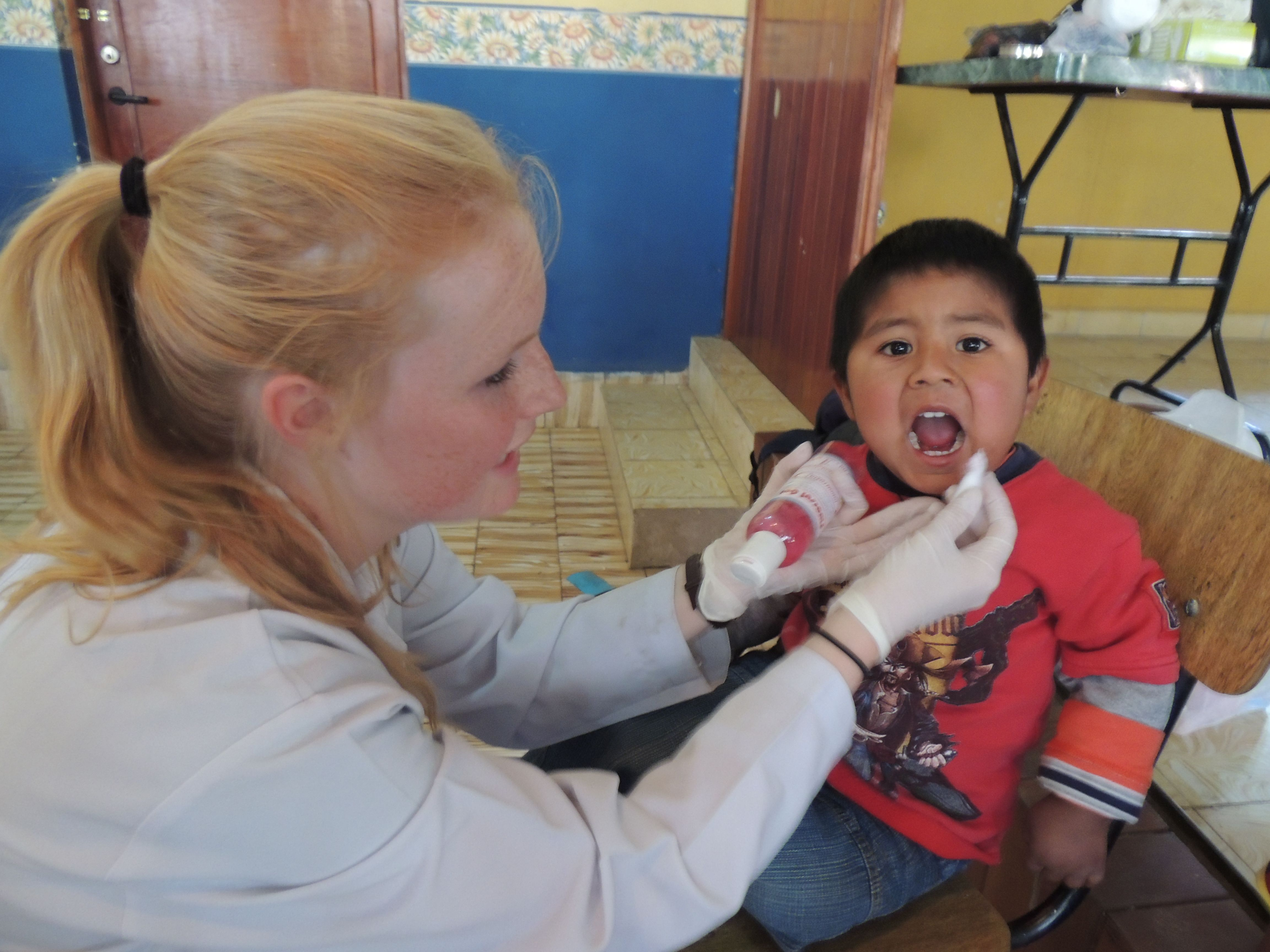 Dentistry and Care program: Dental Fluoridation activity in local orphanage