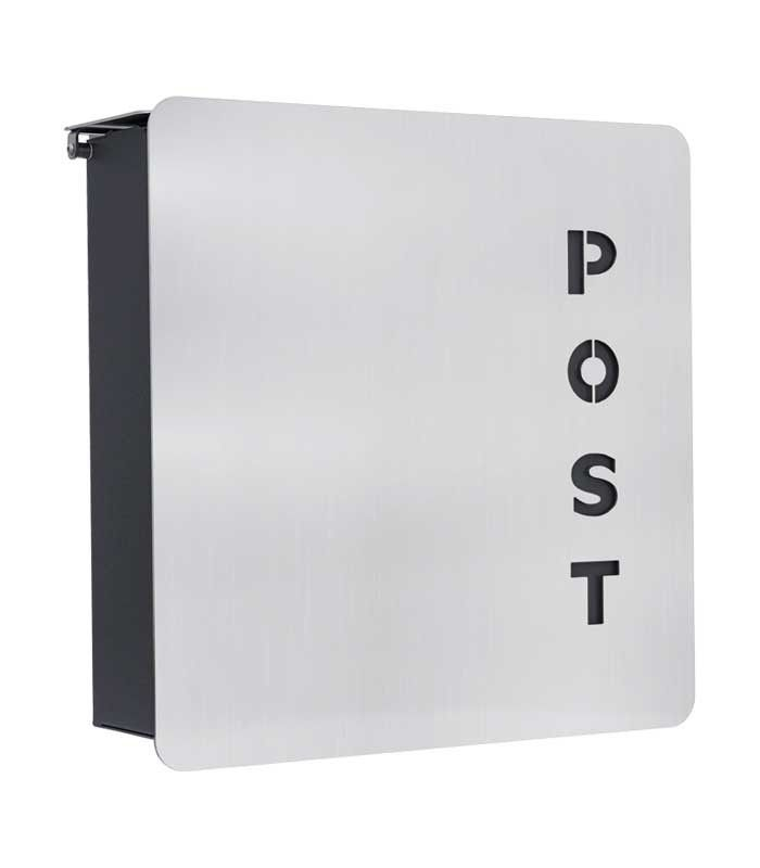 Fondo Verre Stainless Steel Post Box