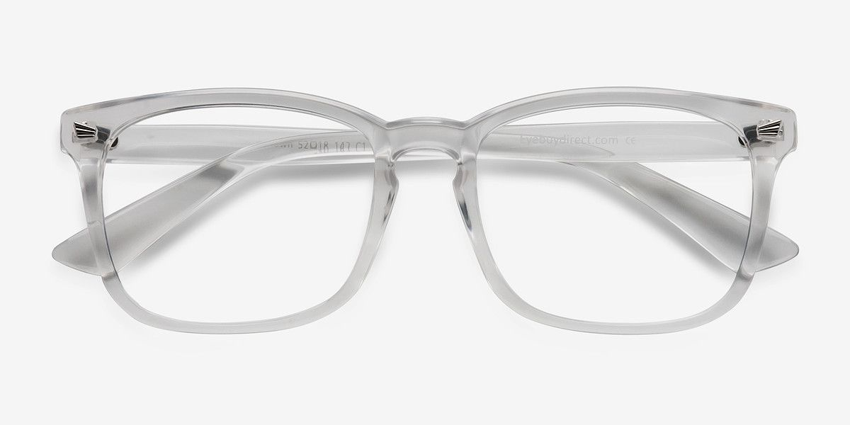 Uptown Clear Plastic Eyeglasses from EyeBuyDirect. Come and discover ...
