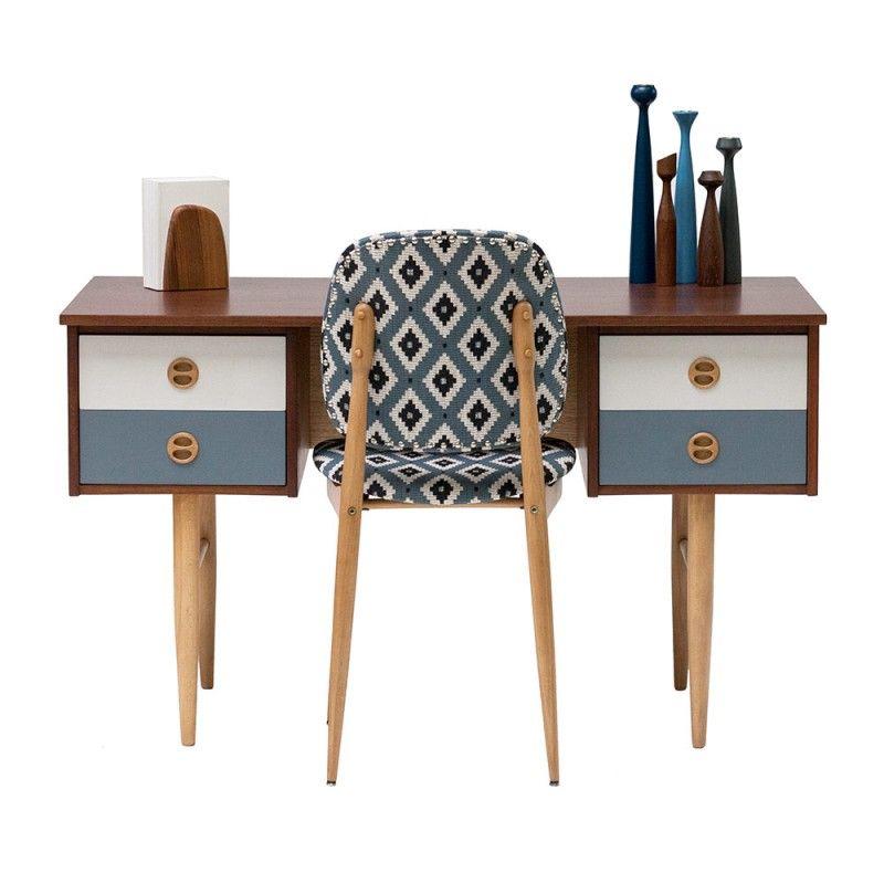 Bureau Vintage Scandinave Années 50 Tables Vintage En 2019 Mid