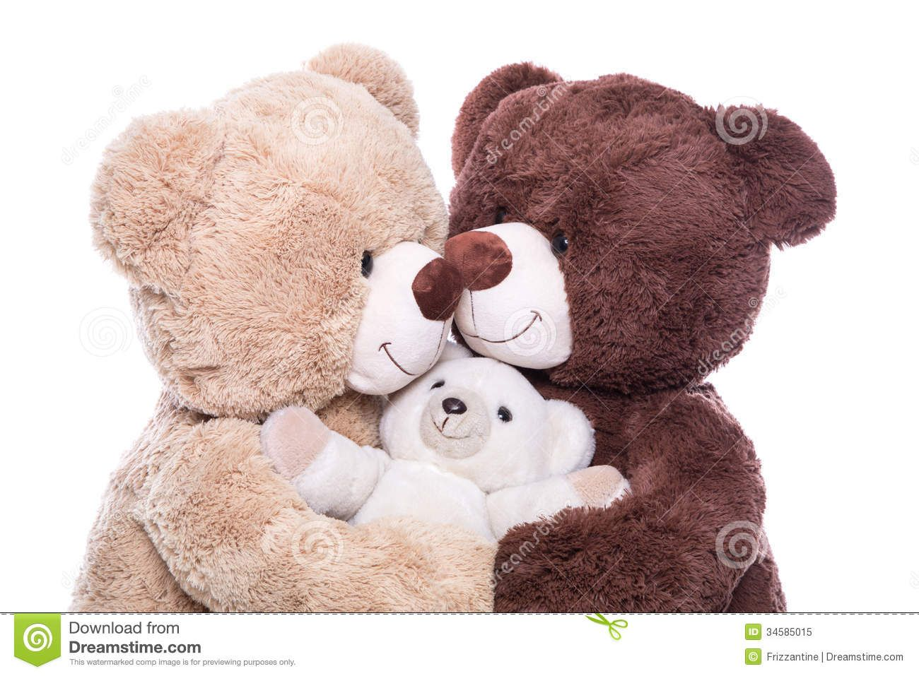 Happy Family - Mother, Father And Baby - Concept With Teddy Bear - Download From Over 50 Million High Quality Stock Photos, Images, Vectors. Sign up for FREE today. Image: 34585015