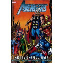 Avengers: Kree/Skrull War [Hardcover], (marvel comics, avengers, comics, book, superhero, x-men, roger stern, stan lee, captain america, incredible hulk)