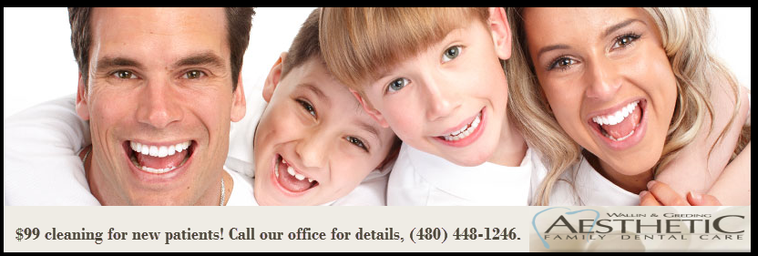 Visit our office with our new patient special and you'll
