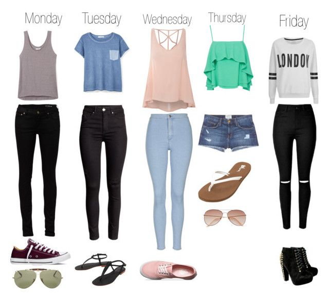 Weekly Outfits Teenage Fashion Outfits Girls Fashion Clothes Weekly Outfits
