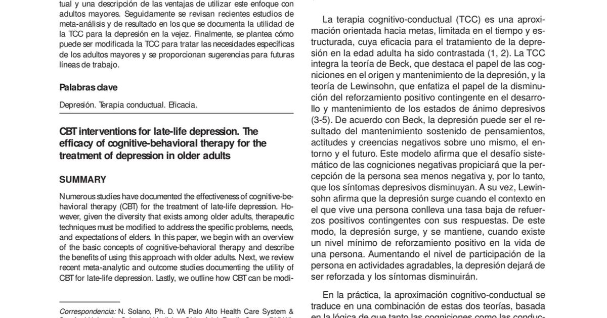 Atractivo CBT Hojas De Trabajo Para La Depresión Ideas - hojas de ...