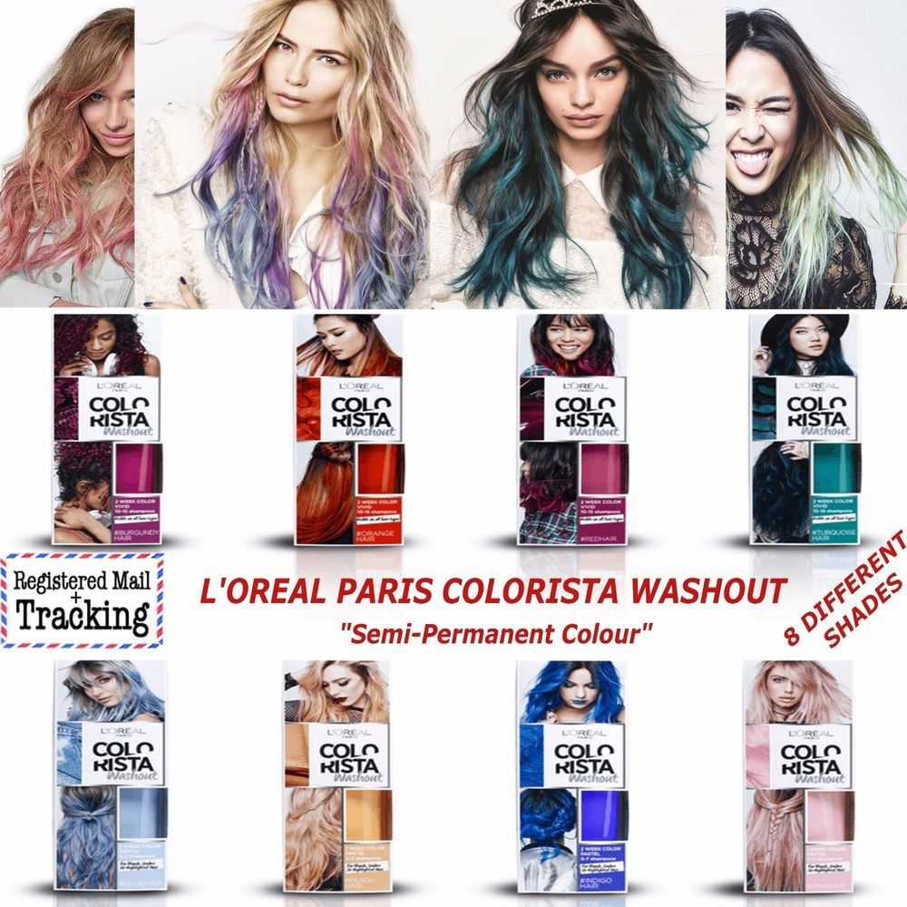 L Oreal Paris Colorista Washout Semi Permanent Hair Colour Hair