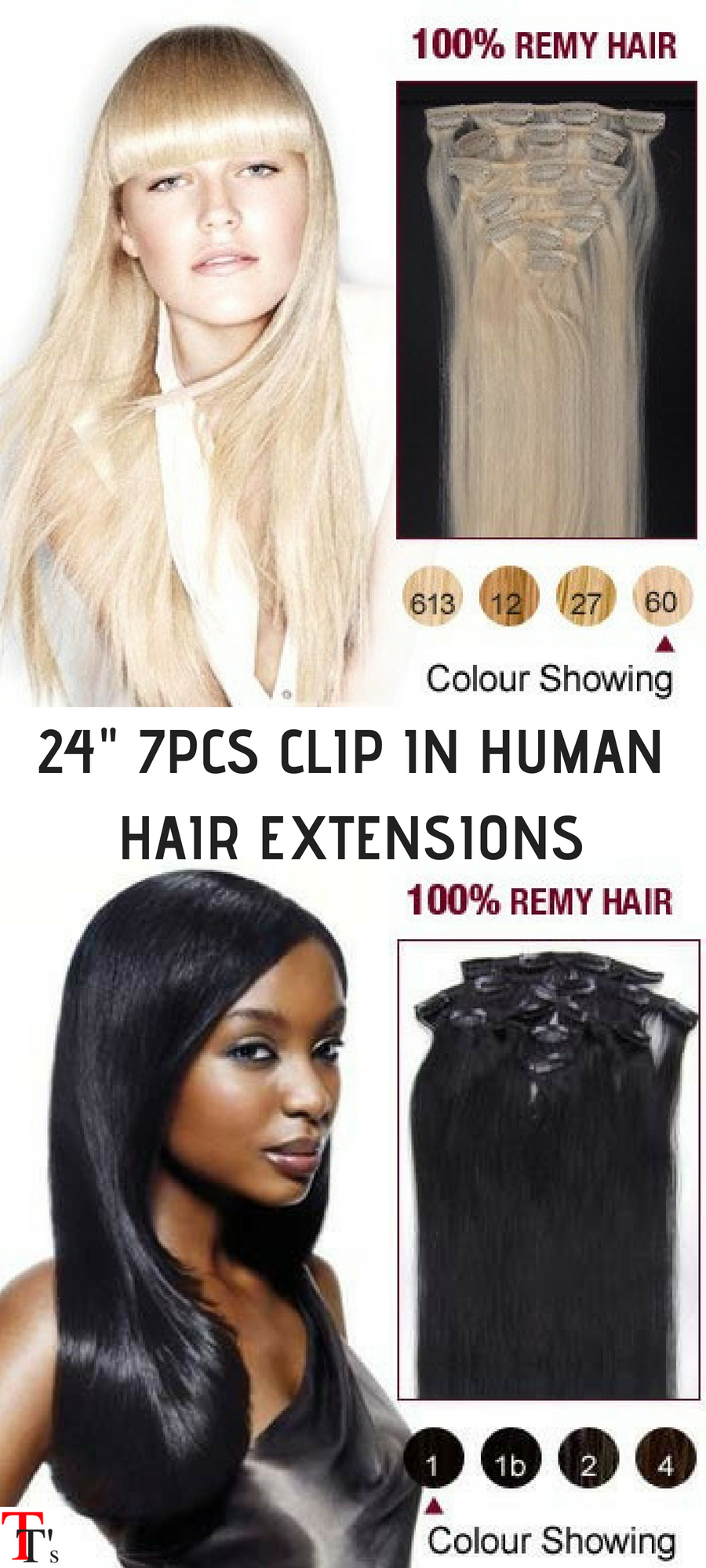 Awesome These Clip In Hair Extensions Look As Real As Glued In