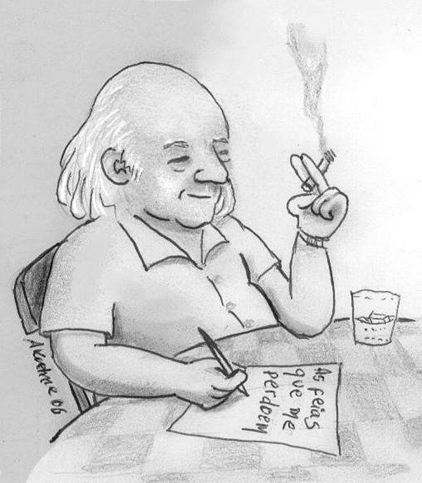 Vinicius De Moraes O Poetinha Moraes Caricaturas Desenhos