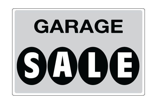 Printable Garage Sale Signs - Gray Download Free | Free Printable ...