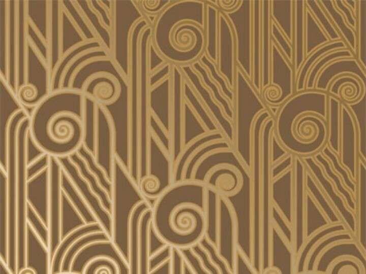 Art Nouveau Carta Da Parati Art Deco.Arredare Casa In Stile Art Deco Moda Art Deco Disegni Carta Da